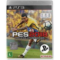 Jogo Pro Evolution Soccer (Pes) 2018 Ps3 - Unissex