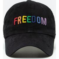 Boné Freedom Arco-Íris