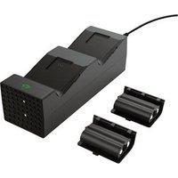 Carregador Duplo Trust Dock Para Xbox Series X/S Gxt 250, Preto - 24177
