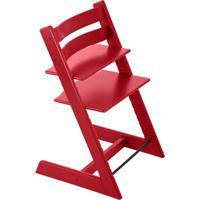 Cadeira Tripp Trapp Vermelha Stokke Vermelho