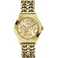 Relógio Guess Feminino Aço Dourado - W0439L2