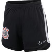 Shorts De Treino Nike Corinthians Feminino