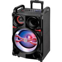 Caixa De Som Amplificadora 400W Mondial, Entrada Usb, Auxiliar E Sd.