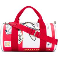 Moschino Can Printed Holdall - Branco