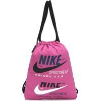 Bolsa Nike Sportswear Heritage - 2.0 Gfx Rosa