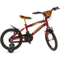 Bicicleta Infantil Aro 16 Rharu Tech Fire 1 - Masculino