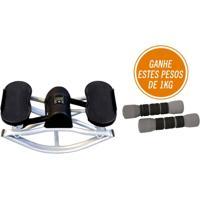 Kit Fitness Com Balance Stepper E6 + Pesos Para Exercicios 1 Kg T33 - Unissex