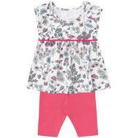 Conjunto Brandili Mini Vestido Rosa