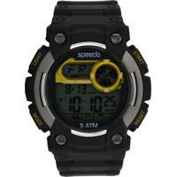 Relógio Speedo 81104G0Evnp3 Preto/Prata