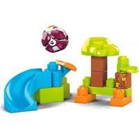 Blocos De Montar - Mega Bloks - Peek A Blocks - Escorregador - Pandinha - Fisher-Price