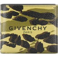 Givenchy Camouflage Logo Print Wallet - Amarelo