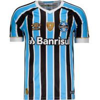 Camisa Umbro Grêmio I 2018 Patch Libertadores