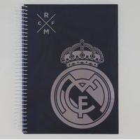 Caderno Foroni Real Madrid 10 Matérias Estampado Marinho