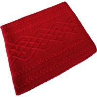 Manta Tricot Decorativa Cama Sofだ120Cm X 150Cm Cod 1026.5 Vermelho - Estampado - Feminino - Dafiti