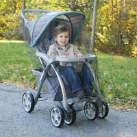 Mosquiteiro Para Carrinho De Bebê Preto Safety1St