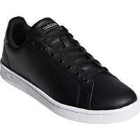 Tênis Adidas Advantage Ii Couro Masculino - Masculino-Preto