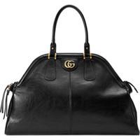 497c8f78b Farfetch; Gucci Bolsa Tote 'Re(Belle)' Grande - Preto