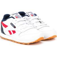 Reebok Kids Classic Lace-Up Sneakers - Branco