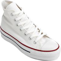 Tênis Converse Chuck Taylor All Star Platform Hi - Feminino-Branco