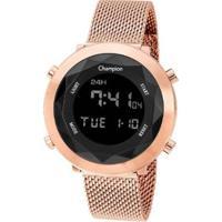 Relógio Champion Digital Ch48028P Feminino - Feminino-Rosa