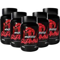 5X Glutamina (100G) - Monsterfeed - Unissex