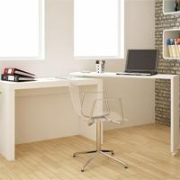Escrivaninha Bc 31 Branco - Brv Móveis