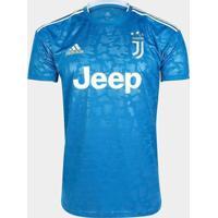 Camisa Masculina Adidas Juventus 3 19/20 S/N Azul/Branco - P
