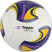 Bola Futebol Society Topper - MuccaShop 8937738f85d63