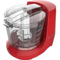 Miniprocessador De Alimentos Cadence Mpr521 Easy Cut 100W Vermelho