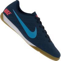 Chuteira Futsal Nike Beco 2 - Adulto - Azul Escuro