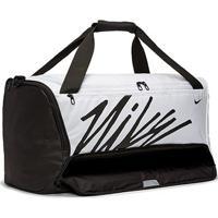 Bolsa Nike Brasília Gfx 60 Litros - Unissex-Branco+Preto