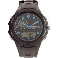 Relógio Speedo Sport Lifestyle 81102G0Evnp2 Preto