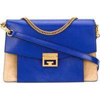 Givenchy Bolsa Tiracolo Gv3 Média - Azul