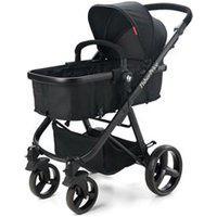 Carrinho De Bebê Com Moisés Hero Ts Preto - Fisher Price - Bb593