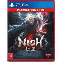 Jogo Ps4 - Nioh - Playstation Hits - Sony