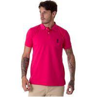 Polo Operarock Piquet Pink