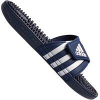 Chinelo Adidas Adissage - Slide - Masculino - Azul Esc/Branco