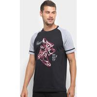 Camiseta Burn Sneakers Legend Masculina - Masculino-Preto