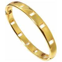 Bracelete Alice Monteiro Banhado A Ouro 18K Dourado.
