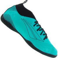 Chuteira Futsal Penalty Rx Locker Stealth Viii Ic - Adulto - Azul/Preto