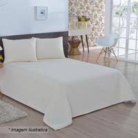 Colcha Bland Casal- Off White- 230X250Cm- Artesaartesanal
