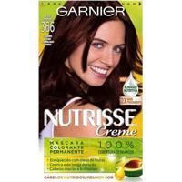 Tintura Garnier Nutrisse 366 Acaju Purpura - Unissex-Incolor