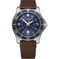 Relógio Victorinox Swiss Army Masculino Couro Marrom - 241863