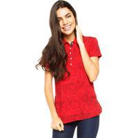 Camisa Polo Tommy Hilfiger Lic City Polo Vermelha bd9c1df4c4ca3