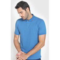 Camisa Polo Reserva Reta Swell Azul