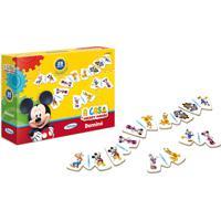 Jogo Domino Mickeyclub House Disney Xalingo - Vermelho - Dafiti