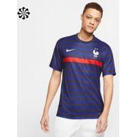 Camisa Nike França I 2020/21 Torcedor Pro Masculina