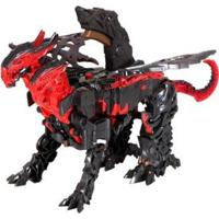 Transformers Turbo Feature - Unissex-Preto+Vermelho