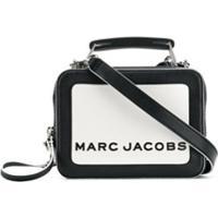 Marc Jacobs Bolsa Transversal 'The Box 20' - Branco