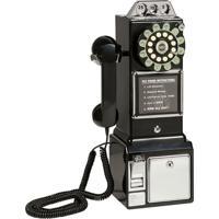 Telefone Vintage Classic Watson Preto
